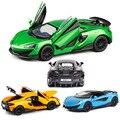 1:32 McLaren 600lt P1 650s модель автомобиля из литого сплава с откидной крышкой 4 двери открытые коллекционные предметы подарок для детей игрушечные а...