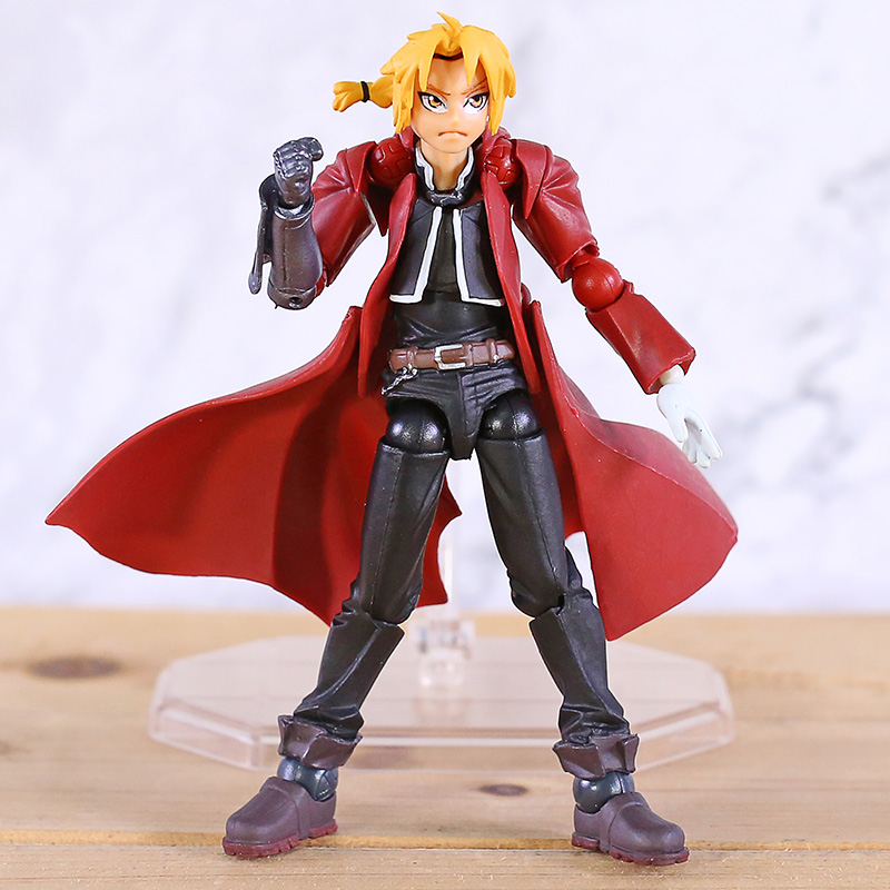Fullmetal Alchemist Edward Elric /PVC Action Figure Collectible Revoltech Yamaguchi Toy