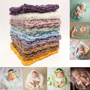 Blanket Basket-Accessories Photography-Props Studio Shoot Baby Photo Newborn Crochet