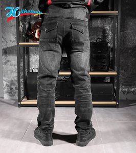 Image 2 - 2020 New 718 Motorcycle Pants Men Moto Jeans Protective Gear Riding Touring Motorbike Trousers Motocross Pants Moto Pants S 5XL