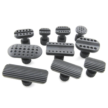 10pcs Car Sheet Metal Repair Tool Kit Gaskets Recessed Hammer Dent Puller Suction Cup Gasket Car Repair Tools New