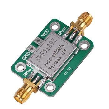 Módulo amplificador SPF5189, transmisor receptor de señal, banda ancha con carcasa protectora, banda ancha de bajo ruido, 50-4000MHz RF #734