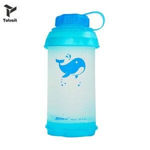 Totrait 750ml dobrável garrafa de água tpu portátil dobrável leve macio esportes copo para acampamento ao ar livre caminhadas escalada