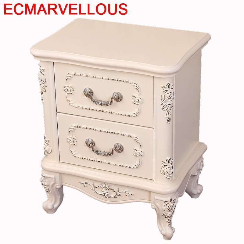 Recamaras Mesa Auxiliar Mesillas Noche Para El European Wood Bedroom Furniture Mueble De Dormitorio Cabinet Quarto Bedside Table