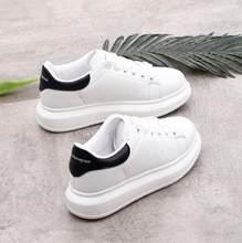 Primavera designer cunhas sapatos brancos plataforma feminina tênis tenis feminino casual mulher formadores sapatos mcqueens