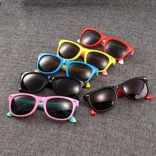 Kids Sunglasses Uv400-Eyewear Baby Shades Polarized Children Fashion Girls Safety Silicone