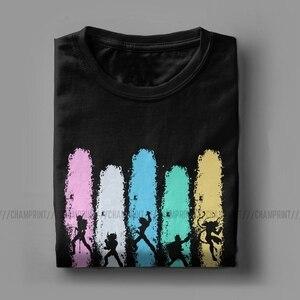 Image 3 - T Shirts manches courtes homme, Vintage brûle ton Cosmos, Saint Seiya chevaliers du zodiaque Anime, vêtements idée cadeau