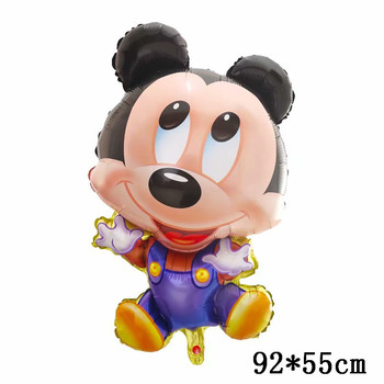 Giant Mickey Minnie Mouse Balloons Disney cartoon Foil Balloon Baby Shower Birthday Party Decorations Kids Classic Toys Gifts 23