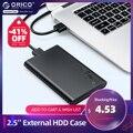 ORICO 2,5 дюймов Внешний жесткий чехол 5 Гбит/SATA к USB 3,0 адаптер жесткого диска чехол для жесткий диск SSD состояния заданием будильника Поддержка ...