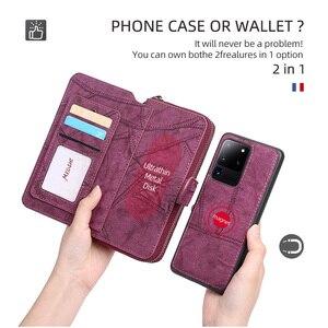 Image 2 - MEGSHI آيفون 11 حافظة محفظة بولي Leather جلد متعددة الوظائف حقيبة يد حافظة هاتف آيفون 6 6S Plus 7 8 X Xr XS 11Pro Max SE2020