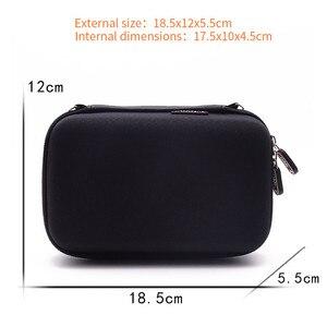 Image 2 - EVA Lagerung Zip Fällen reisetaschen für Nintendo Neue 3DS XL hard cover Pouch für spiel karten power bank Ladegerät konsole Zubehör