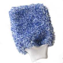 Car Soft Cleaning Glove Ultra Soft Car Wash Mitt Easy To Dry Auto Detailing Mitt Microfiber Madness Wash Mitt RJ