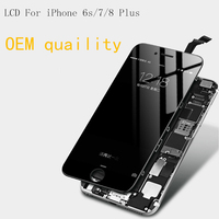 OEM orignal Quality LCD Display For iPhone 6s 7 8 Plus Touch Screen Digitizer Assembly Replacement