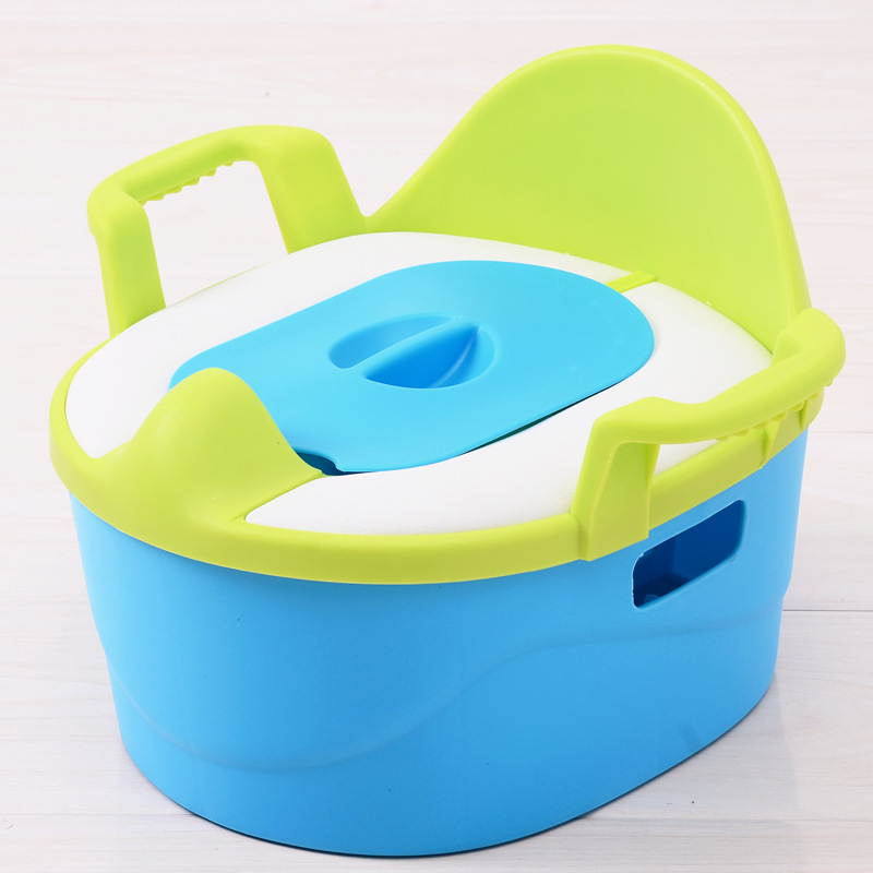 CHILDREN'S Toilet Pedestal Pan Large Size 5-9-Year-Old Plus-sized Female Baby Shit Boy 1-3-6-Year-Old Ultra-Large Size Potty