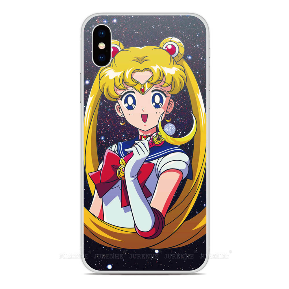 2019 Sailor Moon Silicone Soft TPU Phone Case For LG K50s K40s K20 K30 K40 K50 Q60 X2 G8X G8S V60 Thinq K61 K51S K41S Back Cover