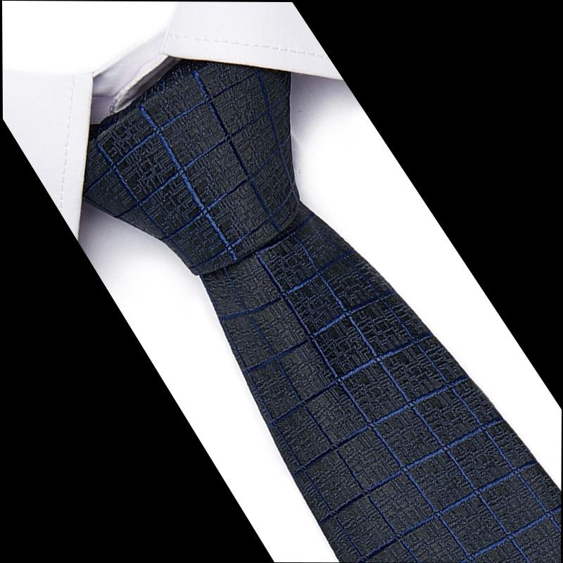Men's Tie Classic Neck Ties New Fashion Striped Plaid Leisure Business Wedding 100% Silk High Quality 7.5cm Silk Necktie