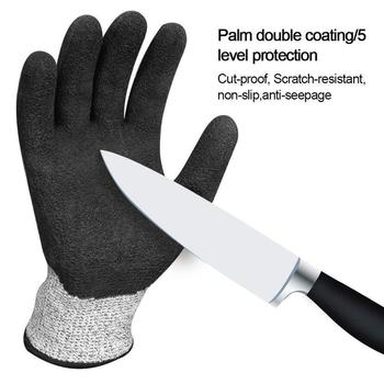 цена на New Anti-cut Gloves Safety Cut Proof Stab Resistant Stainless Steel Wire Metal Mesh Kitchen Butcher Cut-Resistant Safety Gloves