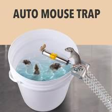 Paslanmaz çelik haddeleme fare tuzağı paslanmaz çelik otomatik fareler kontrol Killer sıçan Catcher açık havada kapalı kemirgen kontrol aracı