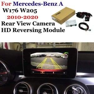 Автомобильный Реверсивный декодер для камеры для Mercedes Benz A W176 W205 2010-2016 оригинальный экран реверсивное изображение обновленная система парк...