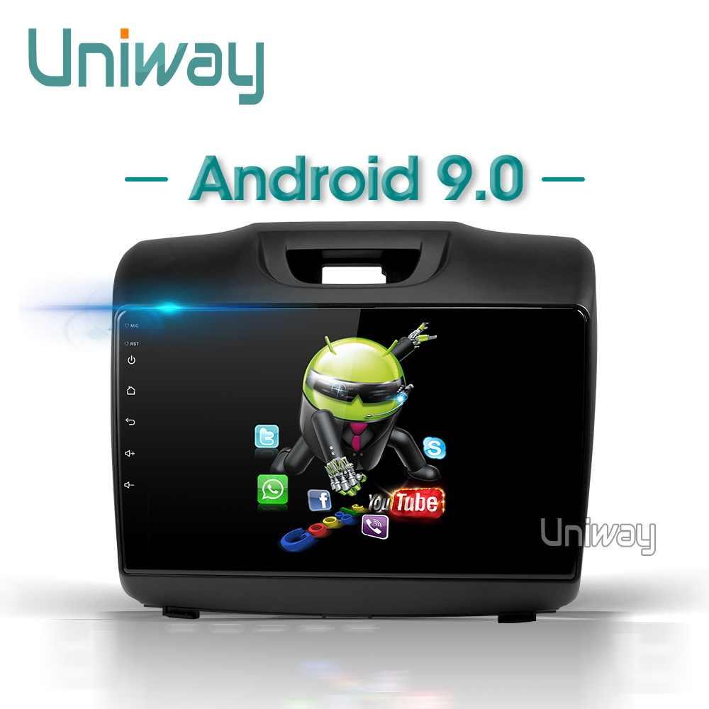Uniway PX30 アンドロイド 9.0 車の dvd シボレー S10 いすゞ D-MAX 2015-2018 車の gps ナビゲーションステアリングホイールナビゲーション GPS