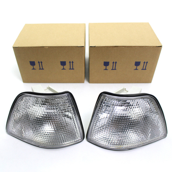 For 1992-1998 BMW E36 3-Series 4DR Coupe Corner Light Lamps Turn Signal Lamp Clear Auto Items image