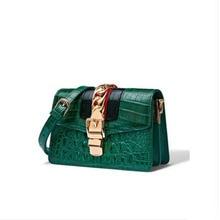 цена на FENGGE Crocodile skin bag for women imported cross-body bag dermal bag single-shoulder bag  women new fashion bag for women bag