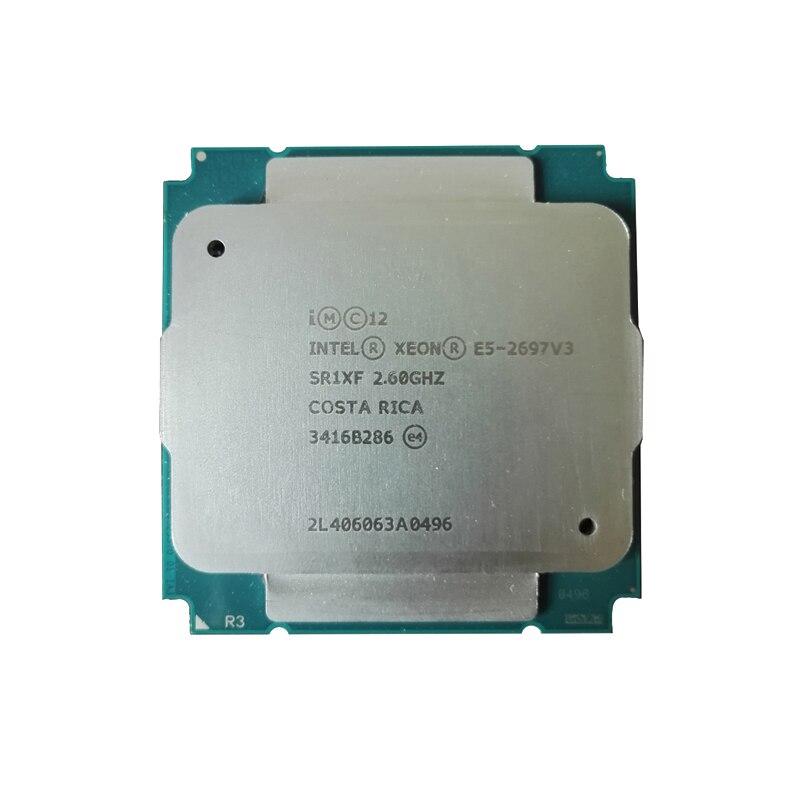 Intel Ксеон E5 2697V3 E5 2697 V3 процессор 14-core 2,60 ГГц 35 Мб 22nm LGA2011-3 TDP 145W Процессор