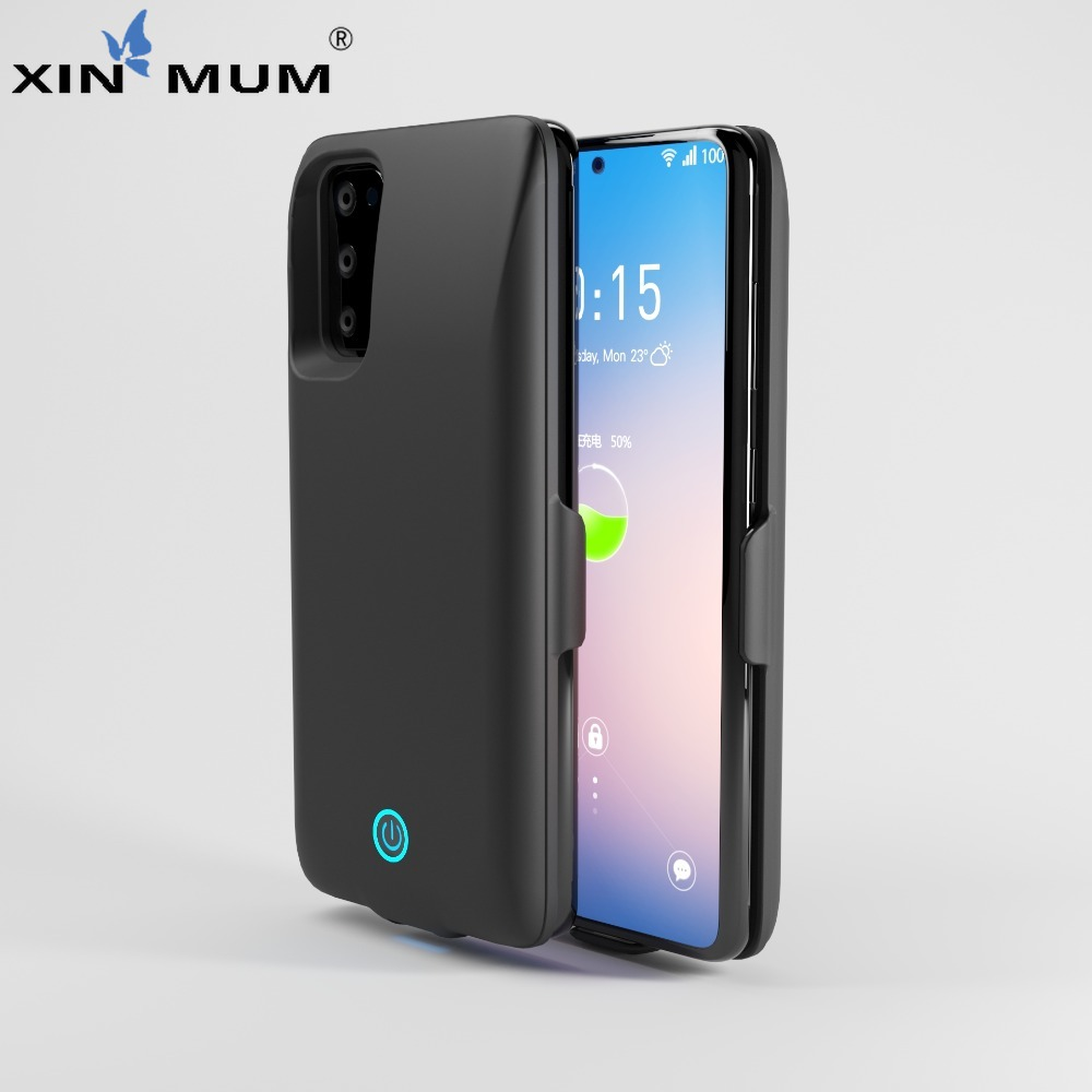 7000mAh Power Bank Case For Samsung Galaxy S20 20+ 20Ultra Battery Case Cover High Quality Pack Backup Battery Charge Universal