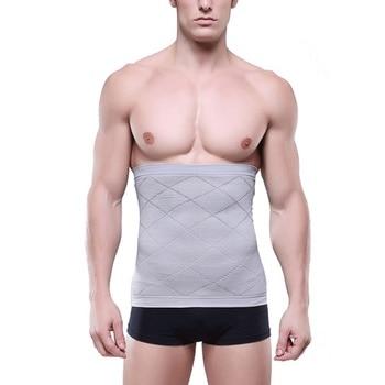 Mens Waist Underwear Slimming Adjustable Belt Girdle Body Tummy Tuck Fat Slim Bodysuit Shaperwear Corset HOT