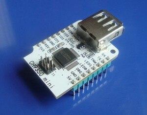 Ch9350 usb master-slave módulo mouse teclado scanner identificação automática porta serial conexão de dois fios