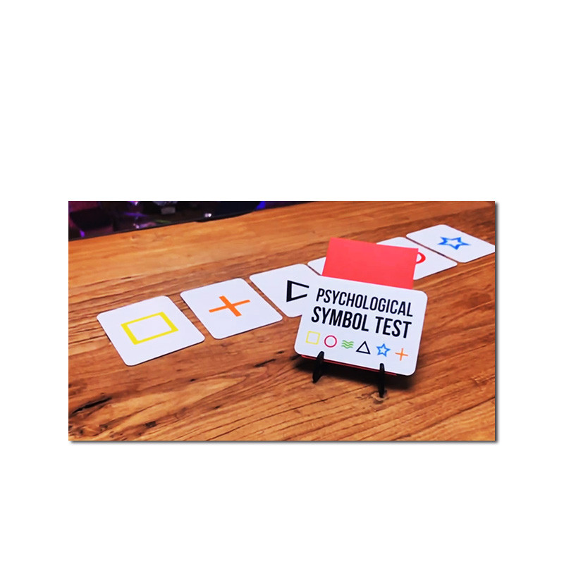 Symbol Pro (Gimmicks And Online Instruct) By Steve Cook Mentalism Magic Tricks Close Up Magic Illusions Magia Card Prediction