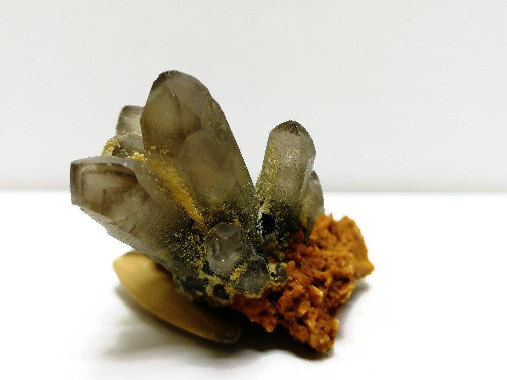 16.5 gnatural cristal cluster quartzo mineral espécime,