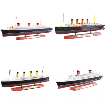 Classic Luxury Cruise Cruise Simulation Alloy Ship Model Titanic TITANIC Normandy Collection Decoration Gift a somervell normandy