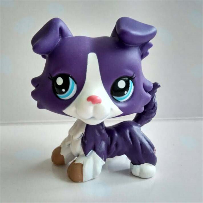 LPS Pet Shop Toys Cats And Dogs Collection Action Cute Shorthairs Dadan Dog Sausage Dog Collie Toys Collect Children's Gifts
