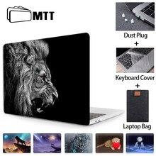Caso do portátil para macbook ar pro retina mtt 11 12 13 15 16 polegada com barra de toque bonito cão animal capa coque a1278 a2289 a2179