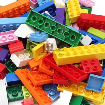 Duży rozmiar klocki cegły kolorowe luzem duże cząstki zestaw DIY edukacyjne kompatybilne z montuje zabawki dla dzieci prezenty tanie i dobre opinie HAIMAITONG W wieku 0-6m 7-12m CN (pochodzenie) Kompatybilny z lego Ninjago Unisex Micro building block Big building block( 1cm)