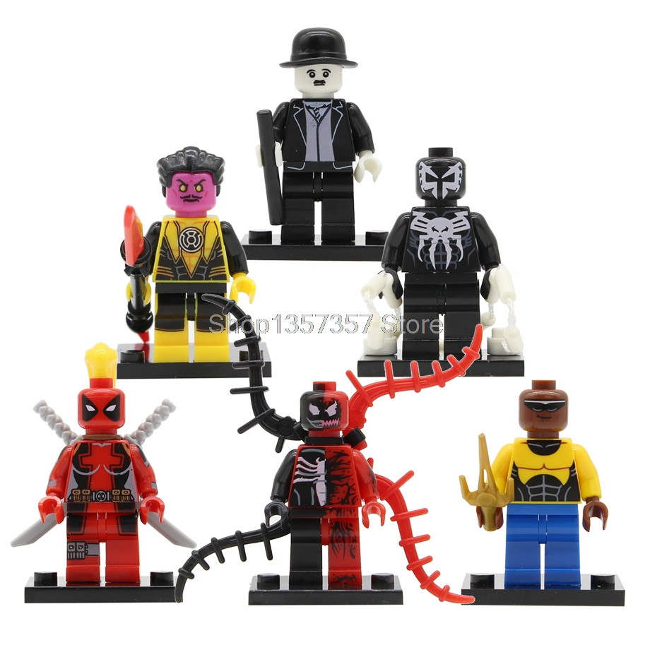 Single Sale Super Hero Luke Cage Figure Marvel Power Man Building Blocks Set Models Bricks Toys Legoing