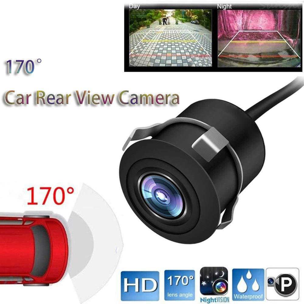 รถด้านหลังกล้อง 170 องศา Auto Reversing ที่จอดรถ 8/12 LED Night Vision CCD อินฟราเรดกันน้ำ HD