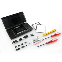 Full Housing Cover Case Replacement Shell Original Nintend 3DS host computer chassis touch pen conductive adhesive keys