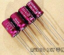 10 pièces nouveau ELNA SILMIC CE BP (RBS) 4.7 uF/25 V 6.3X11MM BP 4.7uf 25v rouge robe condensateur électrolytique audio rbs 25v4.7uf non polaire