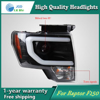 high quality Car styling case for Ford Raptor F150 2011 2014 Headlights LED f 150 Headlight DRL Lens Double Beam HID Xenon|hid xenon|car styling|xenon hid -
