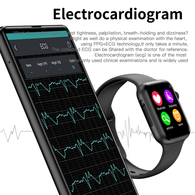 Soulusic IWO 8 lite Bluetooth Call Smart Watch ECG Heart Rate Monitor W34 Smartwatch for Android iPhone xiaomi PK iwo 8 10 Band 2