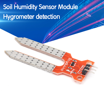 Soil Humidity Sensor Module Hygrometer Detection Soil Moisture Sensor Sensing Module for Arduino Automatic Watering System soil moisture sensor relay control module switch dc 12v soil moisture module automatic watering humidity tester tool dupont line