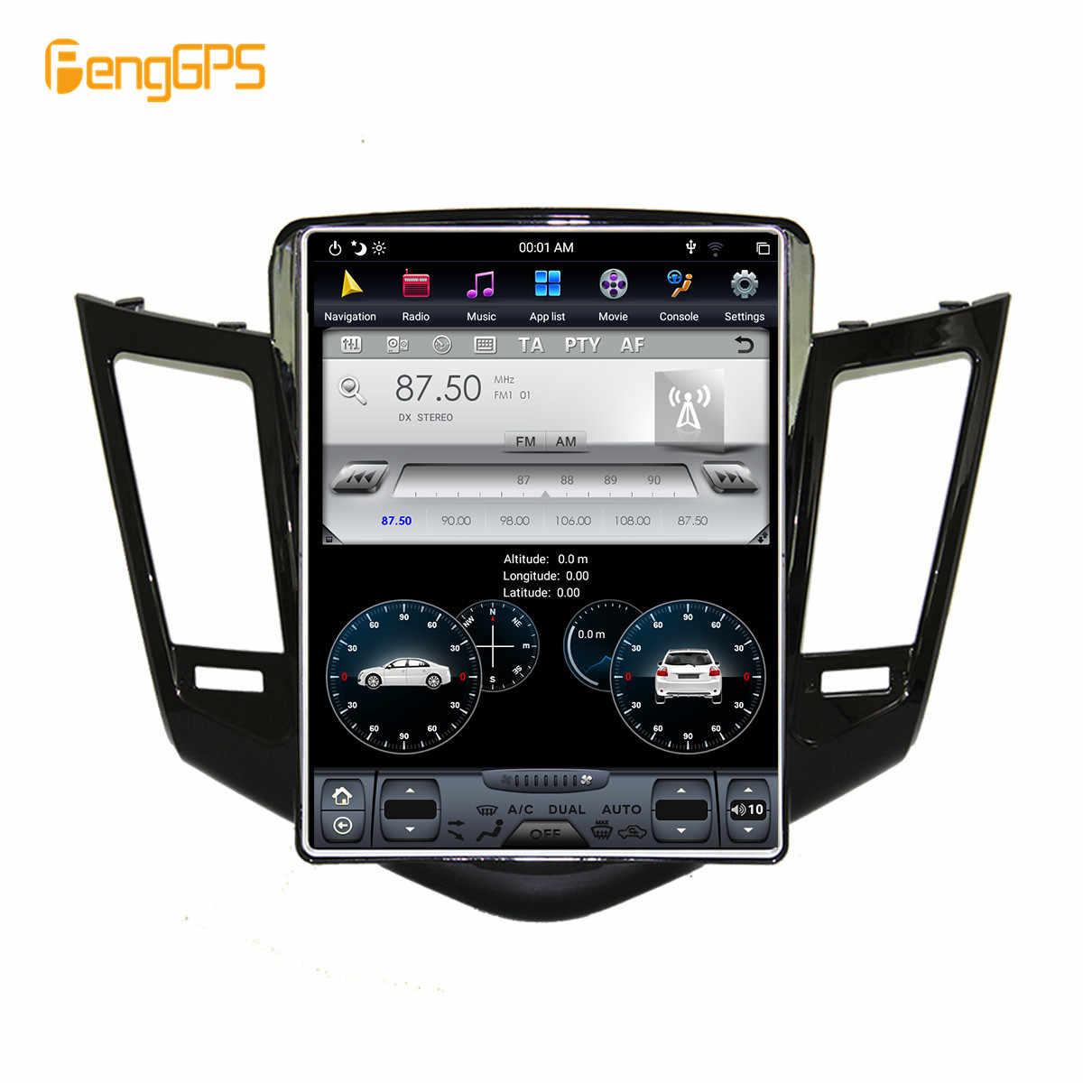 10.4 ''Tesla アンドロイド 7.1 カーマルチメディアラジオ No DVD プレーヤーのためにシボレークルーズ 2008-2013 GPS ナビゲーションヘッドユニット