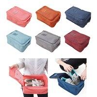 Reisen Pouch Lagerung Einfach Zipper Tasche Wasserdicht Wäscherei Schuhe Organizer für Outdoor Reise Camping Wandern