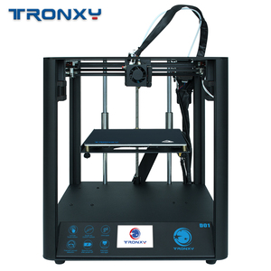 TRONXY D01 Silent design 3D Printer use Industrial Linear Guide Titan Extruder flexible High Quality Print Acrylic Mask Machine(China)