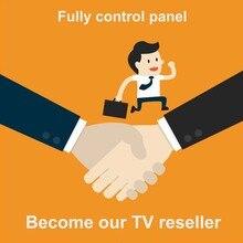 עולם טלוויזיה מקל טלוויזיה תמיכה לוח בקרה עם קרדיטים מכיל אירופה גרמניה הולנד M3U חכם טלוויזיה smarters פרו