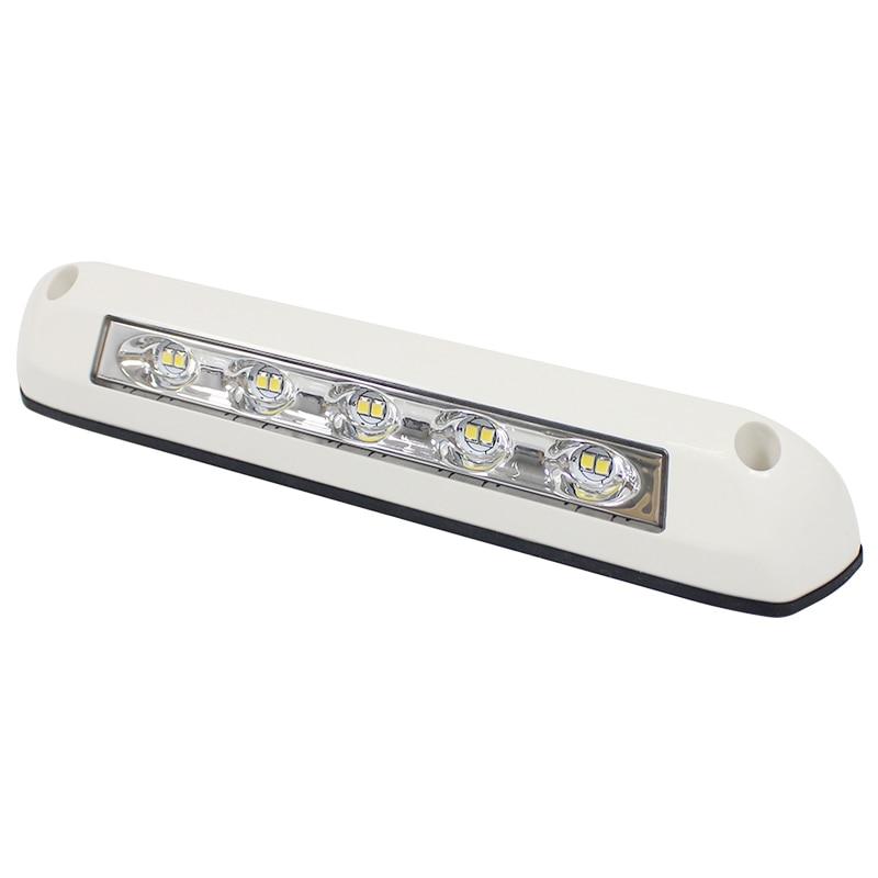 12V/24V RV LED Awning Porch Light Waterproof Motorhome Caravan Interior Wall Lamps Light Bar RV Van Camper Trailer Exterior Lamp