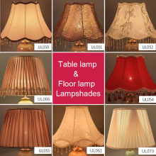 MengDengWei высококачественные настольные абажуры, тканевый Декоративный Напольный Светильник, абажур для спальни, E27