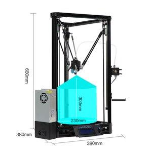 Image 4 - Anycubic kossel 3dプリンタimpresora 3dオートレベリングモジュールリニアガイド自動レベリングプラットフォーム 3Dプリンタキット 3d drucker